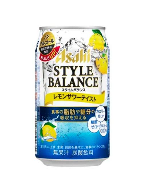 ノンアルコールレモンサワーテイスト/アサヒ スタイルバランス 350ml