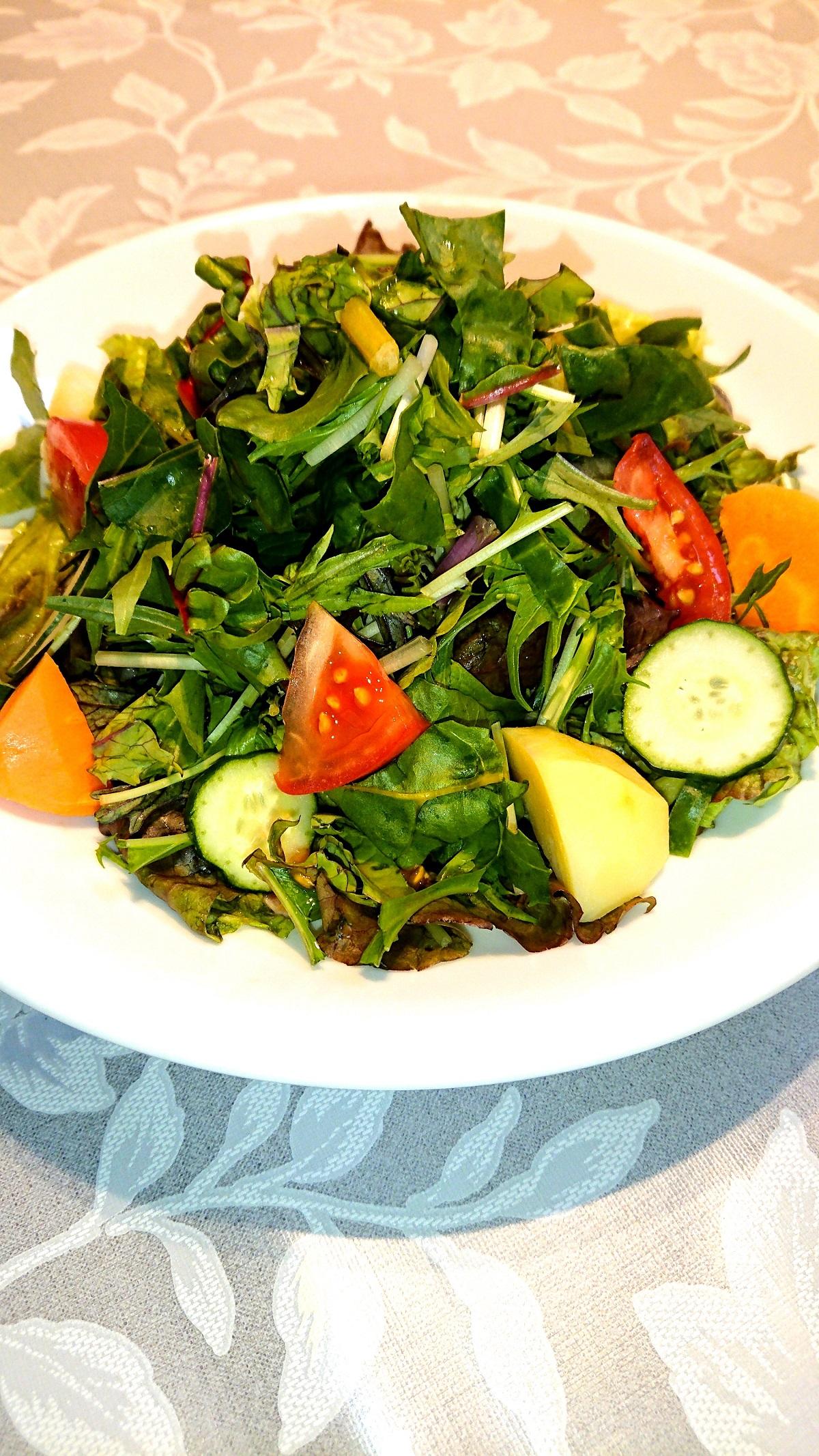 10種の野菜サラダ