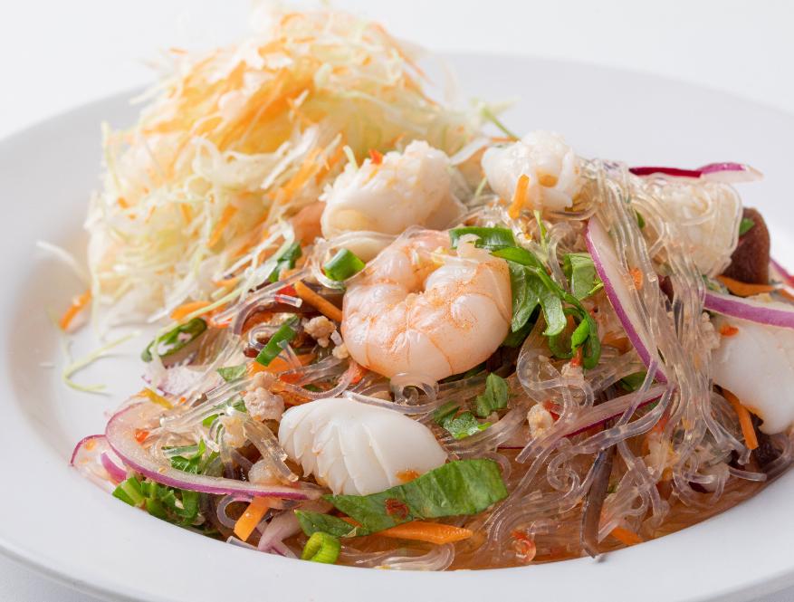 ヤムウンセン/タイの春雨と海老のサラダ